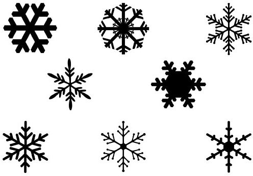 """Simple Snowflake Silhouette Search Results for """"..."""
