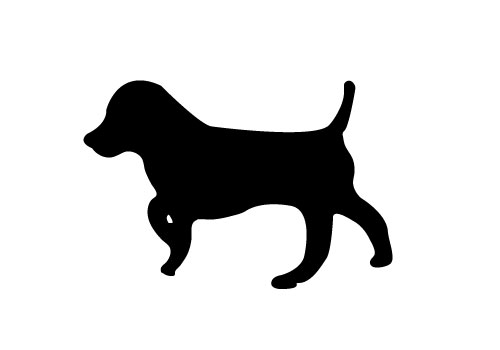 Dog Silhouette Vector Free Download Dog-silhouette-vector