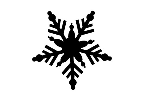 free snowflake vector silhouette sv stock blog rh silhouettevectorstock com snowflake vectors free snowflake vector art free