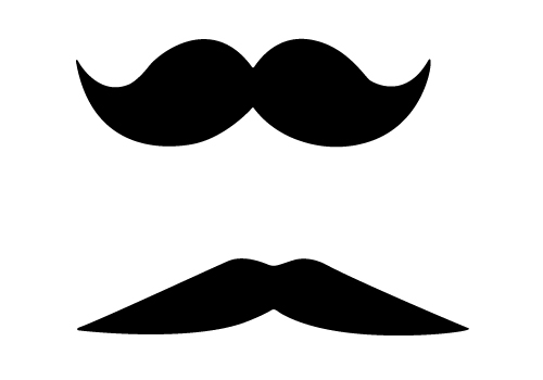 funny free mustache vector images for download sv stock rh silhouettevectorstock com mustache vector svg mustache vectors photoshop