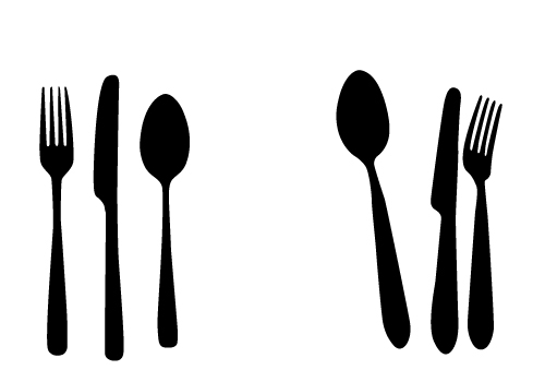 Fork Knife Vector Free Download Free Spoon Knife And Fork