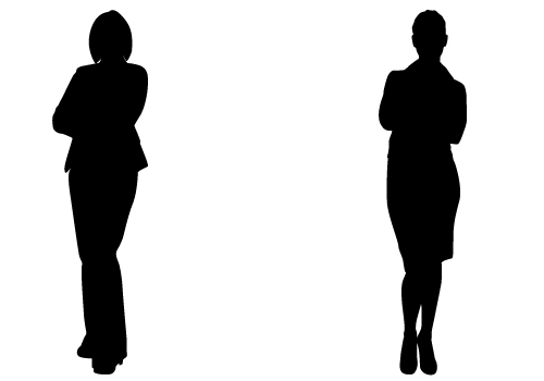 perfect lady silhouette vectors for business vector free download rh silhouettevectorstock com woman silhouette vector ai woman silhouette vector download