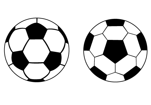 Soccer Ball Silhouette Vector Free Ball Silhouette Vector For