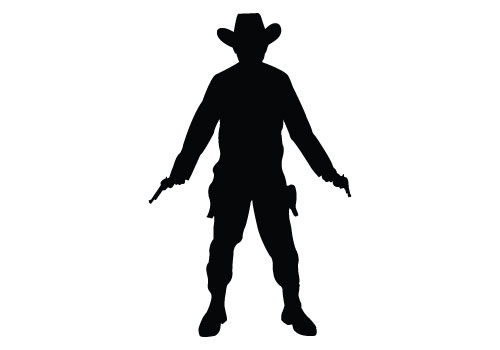 Cowboy Silhouette Images