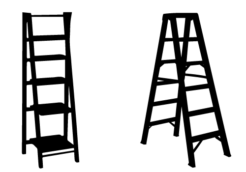 How To Paint The Home Ladder